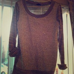 J. Crew Sweaters - Jcrew sequin sweatshirt