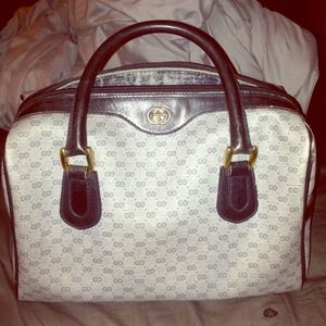 Authentic Gucci Vintage Tote