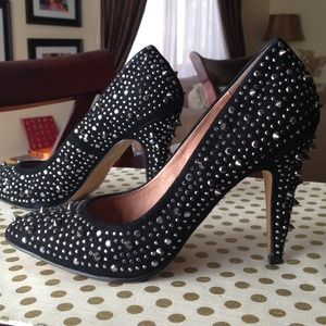 ALDO Shoes - SOLD!!! Black ALDO studded pumps