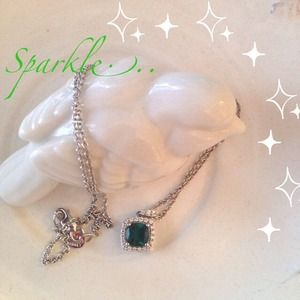 Jewelry - Diamond and Emerald Necklace