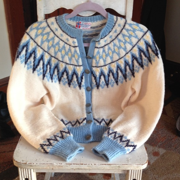50% off Sweaters - AUTHENTIC Fair Isle Fishermans Sweater from ...