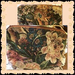 Beautiful tapestry look Vintage Bag