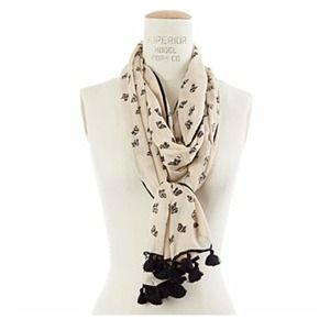 Madewell dog days scarf