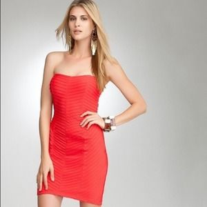 New sexy strapless valentine bebe dress❤️