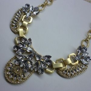 Jewelry - Crystal Cluster Necklace