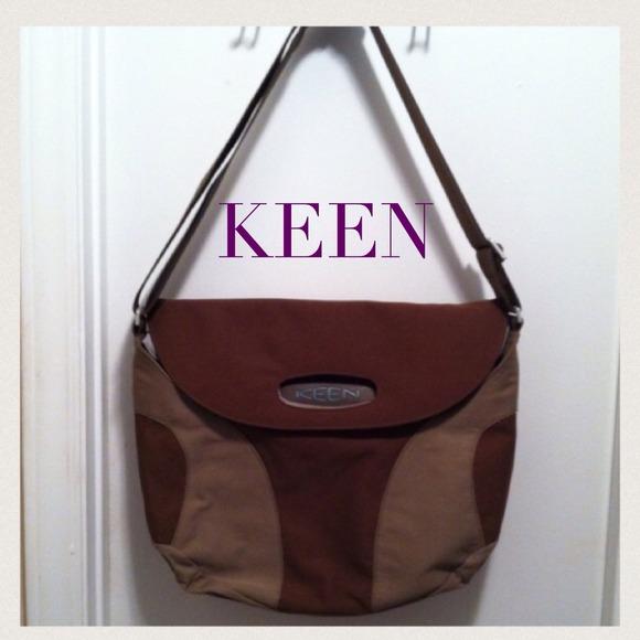 ee2502f0901 Keen Bags | Hybrid Transport Brown Green Messenger Bag | Poshmark
