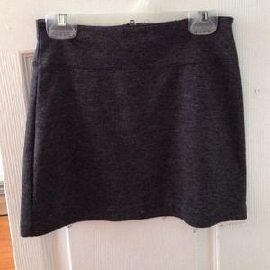 UO grey mini skirt