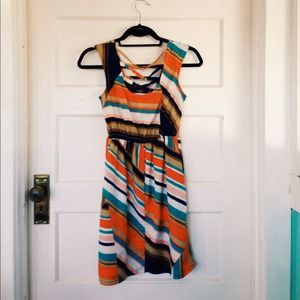 Xhilaration Dresses & Skirts - Colorful patterned summer dress.