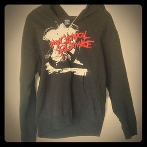 Jackets & Blazers - My Chemical Romance zip up sweatshirt