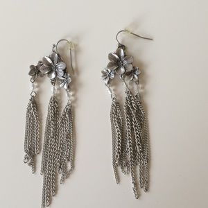 Floral Chandelier Express Earrings