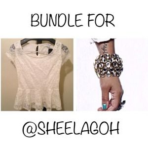 Tops - BUNDLE FOR @SHEELAGOH
