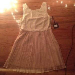 NWT BB Dakota light pink dress