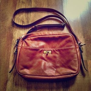 J.Crew Leather Cross-body Bag