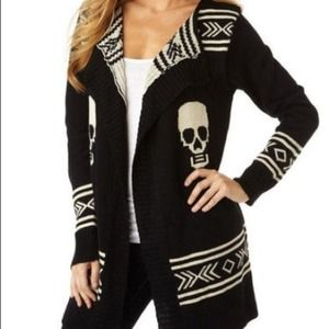 Super cute skull sweater. Soft beautiful quality
