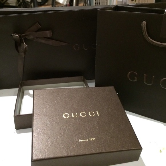 b86e6afe949b Gucci Other | Authentic Shopping Bags Tie Envelope Box | Poshmark