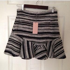 Three Floor flip skirt