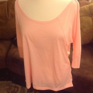 New Champion work out top in a blush color. M &L
