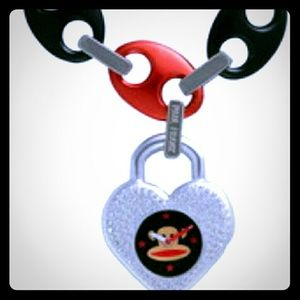 julius Accessories - Bracelet watch with heart charm