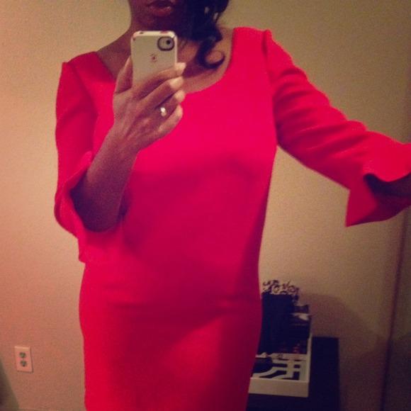 Ann Taylor Dresses Bell Sleeve Dress Poshmark