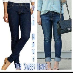 Old Navy Jeans - Old Navy Sweetheart skinny leg jean pants 59302cff9
