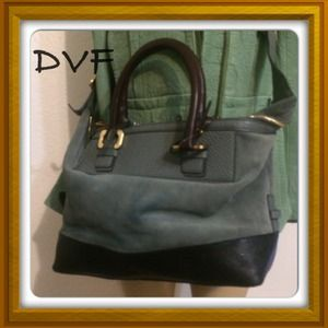DVf authentic satchel!