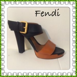 Fendi authentic at form sandals