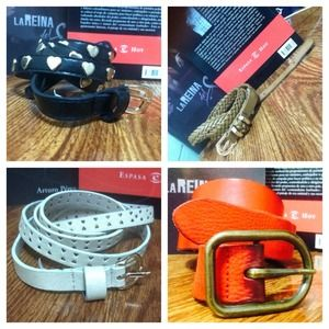Accessories - RESERVED Bundle of Belts