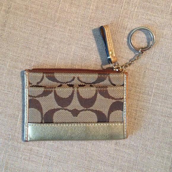 coach coin purse outlet nd3c  coach coin purse keychain
