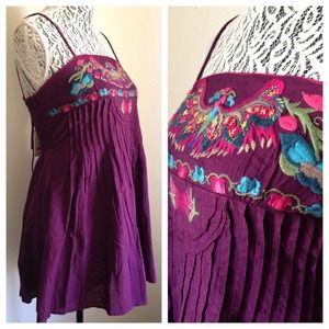 Free People Dresses & Skirts - FREE PEOPLE // Eggplant Free Spirit Dress