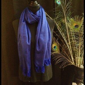 ‼️LAST CHANCE‼️ Blue Pashmina Style Scarf