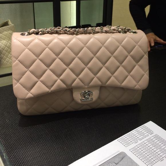 a949ea80d4c6 Gone-----10000% Chanel 3 jumbo bag lamb