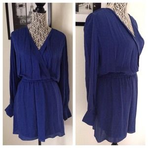 NWOT PARKER // Royal Blue Sophisticated Dress