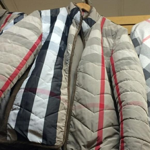 50% off Burberry Jackets & Blazers - Authentic Burberry zip down ...