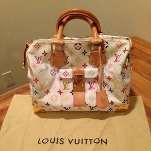 91ad93eca2ba6 Louis Vuitton Bags - Authentic Louis Vuitton--Speedy 30 Multicolor