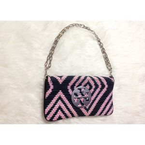 RARE Tory Burch Reva Clutch