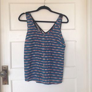 Lush Tops - Patterned tank top by Lush.