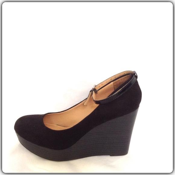 report peep toe flats