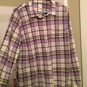 "Jcrew plaid ""perfect shirt"""