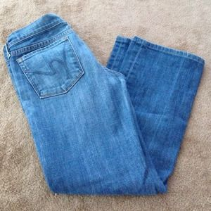 Citizen of Humanity jeans low waist bootcut size28
