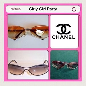 HP 1/24, 2/5Authentic Chanel 4020 Sunglasses