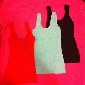 3 Glittery / Sparkly Tank Tops