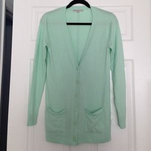 ⬇️REDUCED⬇️ Gap Mint Green cardigan with pockets