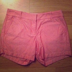 J Crew chino shorts. NWOT.