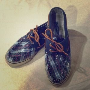 Fun, original like new Sperry Top-Sider shoes!!