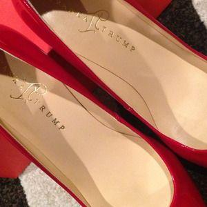 87ce8cc6ec82 Ivanka Trump Shoes - Authentic Ivanka Trump Red Patent Leather Pumps