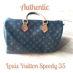 UnavailableAuthentic Louis Vuitton Speedy 35