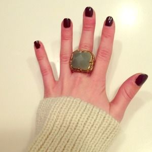 Jewelry - Turquoise vintage middle finger ring!