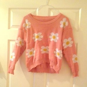 Daisy design sweater