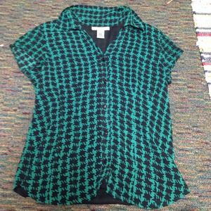 Nine West  Tops - Nine West button down shirt