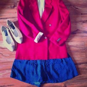 Jackets & Blazers - Red vintage blazer!